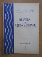 Anticariat: Revista de fizica si chimie, anul XXII, nr. 1, ianuarie 1985