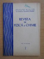 Anticariat: Revista de fizica si chimie, anul XXII, nr. 7, iulie 1985
