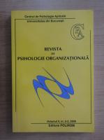 Anticariat: Revista de psihologie organizationala, volumul 5, nr. 2-3, 2005