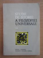 Anticariat: Studii de istorie a filozofiei universale (volumul 7)