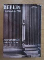 Anticariat: W. Volk - Berlin. Hauptstadt der DDR