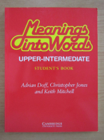 Adrian Doff - Meanings into words. Student's book