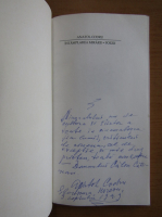Anatol Codru - Intamplarea mirarii (cu autograful autorului)