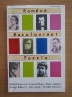 Anticariat: Daniela Fulga - Romana. Bacalaureat. Poezia
