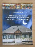 Dimitrie Olenici - Semne si simboluri astronomice in ornamentica traditionala din Bucovina