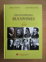 Emil Satco - Enciclopedia Bucovinei, G-O (volumul 2)
