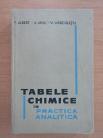 Anticariat: F. Albert - Tabele chimice in practica analitica