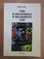 Gaston Gh. Cosma - Studii de arta romaneasca