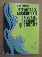 N. Petrescu - Dezvoltarea agriculturii in zonele indiguite si desecate