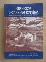 Revista Biserica Ortodoxa Romana, anul LXXXII, nr. 5-6, mai-iunie 1964