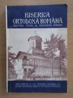 Revista Biserica Ortodoxa Romana, anul LXXXIV, nr. 11-12, noiembrie-decembrie 1966