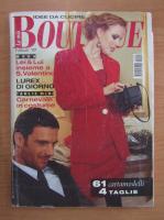 Revista La mia Boutique, anul XIV, nr. 2, 1999