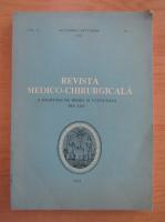 Anticariat: Revista medico-chirurgicala, volumul 92, nr. 4, octombrie-decembrie 1988