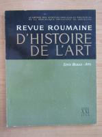 Anticariat: Revue Roumaine d'histoire de l'art, volumul 21, 1984