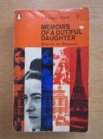 Simone de Beauvoir - Memoirs of a Dutiful Daughter