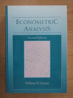 Anticariat: William H. Greene - Econometric analysis