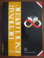 Anticariat: Dictionar enciclopedic (editura Enciclopedica, volumul 2, 1996)