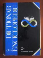 Dictionar enciclopedic (editura Enciclopedica, volumul 3, 1999)
