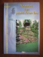 Anticariat: Noi marturii despre parintele Arsenie Boca