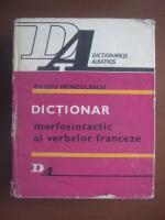 Anticariat: Ovidiu Franculescu - Dictionar morfosintactic al verbelor franceze