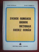 Anticariat: State Nicolai, State Cornelia - Dictionar Suedez-Roman