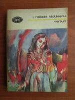 Anticariat: I. Heliade Radulescu - Versuri