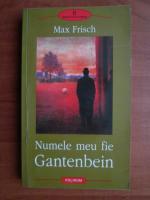 Anticariat: Max Frisch - Numele meu fie Gantenbein