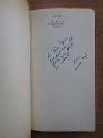 Anticariat: B. Elvin - Teatrul si interogatia tragica (cu autograful autorului)