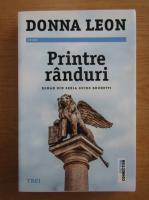 Anticariat: Donna Leon - Printre randuri