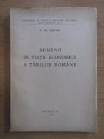 Anticariat: H. Dj. Siruni - Armenii in viata economica a Tarilor Romane