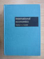Anticariat: Herbert G. Grubel - International economics