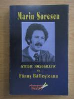 Anticariat: Marin Sorescu - Studiu monografic de Fanus Bailesteanu