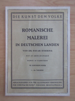 Anticariat: Oscar Doering - Romanische Malerei in deutschen Landen