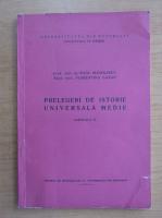 Anticariat: Radu Manolescu - Prelegeri de istorie universala medie (volumul 4)