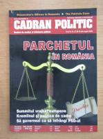 Anticariat: Revista Cadran Politic, anul III, nr. 27-28, iulie-august 2005