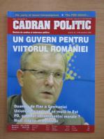 Anticariat: Revista Cadran Politic, anul III, nr. 31, noiembrie 2005
