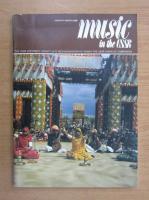 Anticariat: Revista Music in the USSR, ianuarie-martie 1988