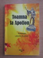 Anticariat: Toamna la Apollon. 10 octombrie-25 noiembrie 2013