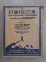 Anticariat: A radiotelefon elmeleti es gyakoblati ismertetese
