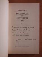 Anticariat: Adrian Voica - Dictionar cu distihuri (cu autograful autorului)