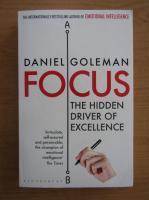 Anticariat: Daniel Goleman - Focus. The Hidden Driver of Excellence