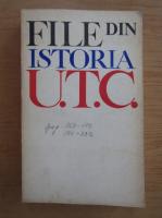 Anticariat: File din istoria U. T. C.