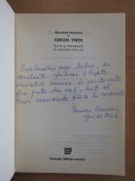 Anticariat: Germina Comanici - Cercul vietii (cu autograful autorului)