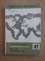 Anticariat: Ion Fantanaru - File din dosarul CIA