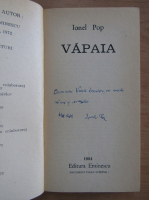 Ionel Pop - Vapaia (cu autograful autorului)