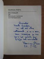 Anticariat: Marian Popa - Dictionar de literatura romana contemporana (cu autograful autorului)