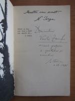 Anticariat: Mihai Stoian - Moartea unui savant. N. Iorga (cu autograful autorului)
