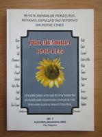 Anticariat: Revista Pro Memoria, nr. 7, octombrie-decembrie 2005