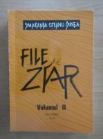 Anticariat: Smaranda Oteanu Bunea - File de ziar (volumul 2)
