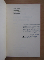 Virgil Mihai - Indicatiuni pentru balerina din respiratie (cu autograful autorului)
